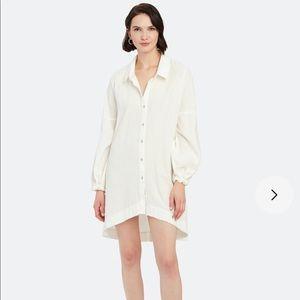 FP | Whistler Oversized Buttondown dress